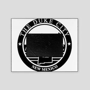 Albuquerque logo black and white Picture Frame