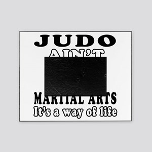 Judo Martial Arts Designs Picture Frame