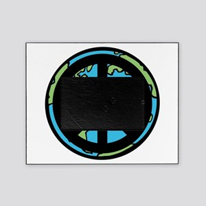 Peace on Earth in Black Picture Frame