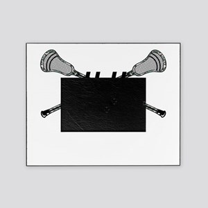 Lacrosse Camo Sticks Crossed Personalize Picture F