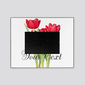 Personalizable Tulips Picture Frame