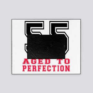 55 Aged To Perfection Birthday Desig Picture Frame