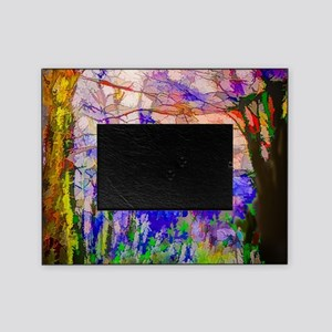 Nature In Stained Glass Picture Frame