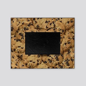 Chocolate Chop Cookie Pattern Picture Frame