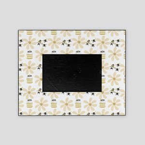 Bees and Flowers Picture Frame