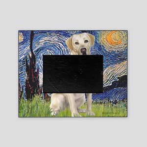 StarryNight (T) - YellowLab7 Picture Frame