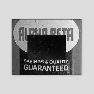 Alpha Beta logo Picture Frame