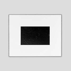 Cute Nurse Supplies Print - Black Picture Frame