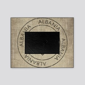 Vintage Albania Picture Frame