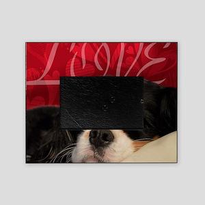 Cavalier King charles Spaniel Love Picture Frame