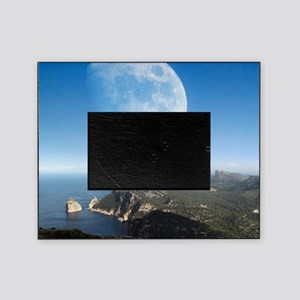 Moonrise over Mallorca Picture Frame