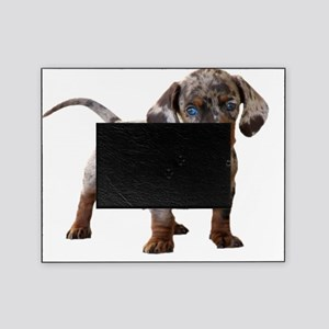speckled puppy 2 16x16 Picture Frame
