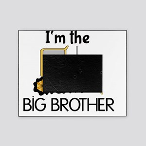 Im the Big Brother Bulldozer Picture Frame