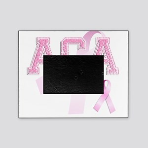 ACA initials, Pink Ribbon, Picture Frame