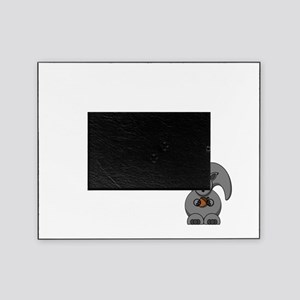 Short Attention White Picture Frame