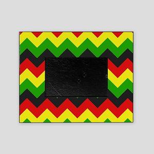 Reggae Chevron Picture Frame