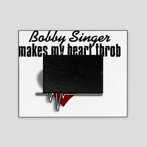 Bobby makes my heart thrrob Picture Frame