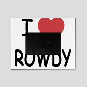 I heart ROWDY Picture Frame