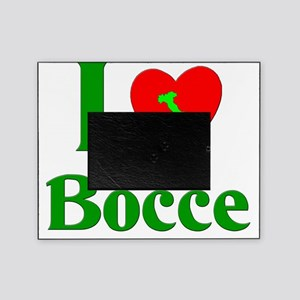 I  Love Bocce Picture Frame