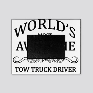 tow truck driver Picture Frame