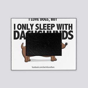 Sleep With Dachshunds Picture Frame