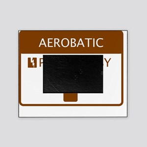 Aerobatic Powered by Coffee Picture Frame