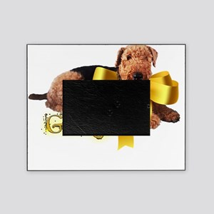 gold ribbon george centered copy Picture Frame