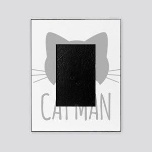 Cat Man Picture Frame