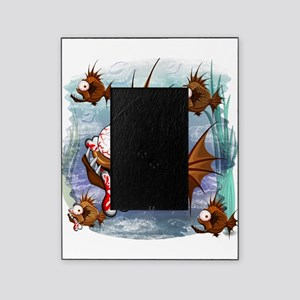 Psycho Fish Piranha Picture Frame