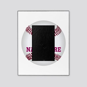 Baseball Player Name Number Picture Frame