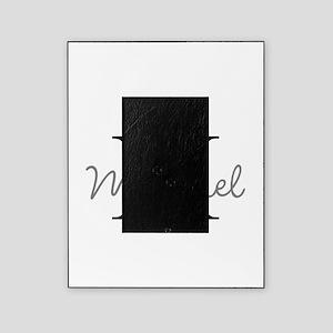 Customize Monogram Initials Picture Frame
