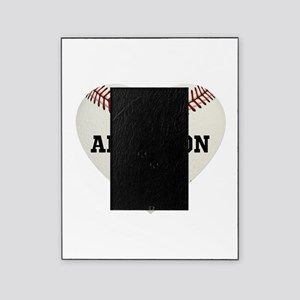 Baseball Love Personalized Picture Frame