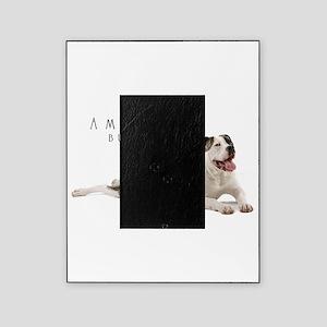 American Bulldog Picture Frame