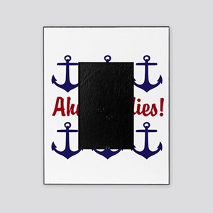 Ahoy Ladies Funny Nautical Anchors Picture Frame
