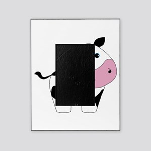 Cute Black and White Cow Picture Frame