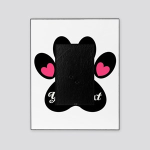 Personalizable Paw Print Picture Frame