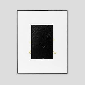 no color - for dark apparel Picture Frame