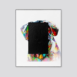 Colorful Bulldog Picture Frame