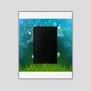 Soccer creative poster Picture Frame