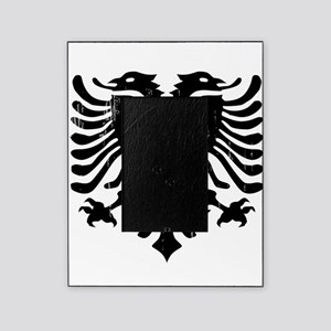 albania_eagle_distressed Picture Frame