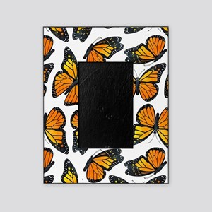 Monarch Butterfly Pattern Picture Frame