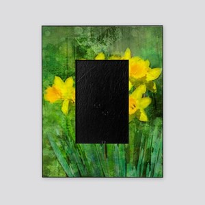 Daffodil Art Picture Frame