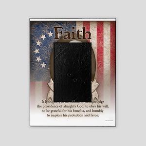 George Washington - Faith Picture Frame