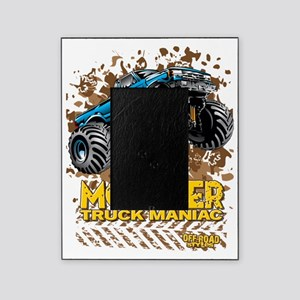 Monster Truck Maniac Picture Frame