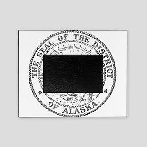 Vintage Alaska State Seal Picture Frame