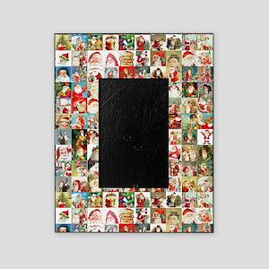 Many Many Santas Picture Frame