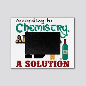 Alcohol is a Solution Picture Frame