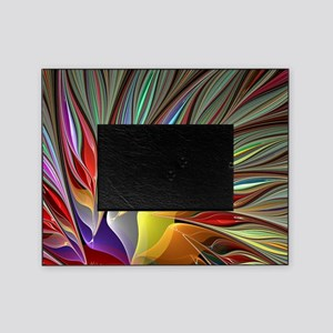Fractal Bird of Paradise Picture Frame