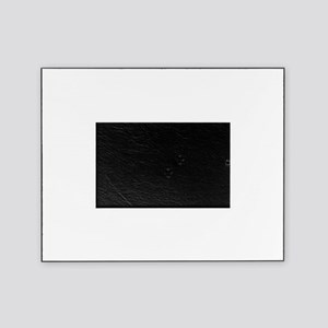 purple Owl Bkgd  Picture Frame