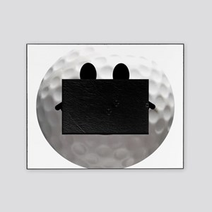 Golf ball smiley Picture Frame